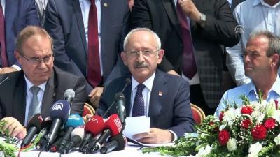 CHP Genel Başkanı Kılıçdaroğlu - Tekirdağ'daki tren kazası (2) - TEKİRDAĞ