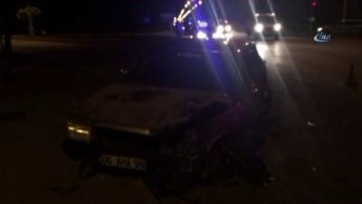 Erzincan'da kaza: 1 yaralı