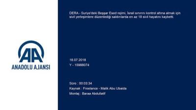 muhalifler - Esed rejimi güneyde ilerleme çabasını sürdürüyor - DERA
