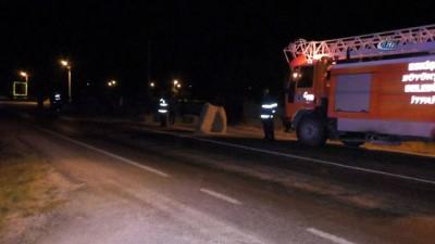 Eskişehir'de trafik kazası: 1 ölü 2 yaralı