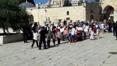 - Fanatik Yahudilerden Mescid-i Aksa'ya baskın Haberi