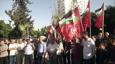 Filistinliler Gazze'ye uygulanan yaptırımları protesto etti - GAZZE