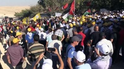 Han el-Ahmer'de İsrail protestosu - KUDÜS