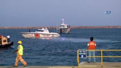 Kurtarılan mülteciler Seka Limanı'na getirildi