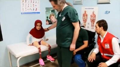Suriyeli Maya protezine kavuştu