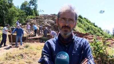 arkeolojik kazi -  Tarihi Kurul Kalesi'nde kazı çalışmaları başladı