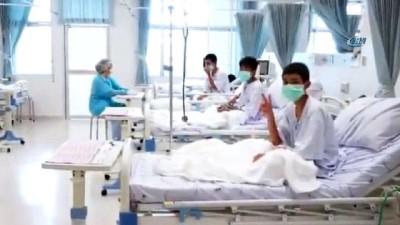 - Taylandlı çocuklar taburcu oldu