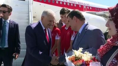 TBMM Başkanı Yıldırım, memleketi Erzincan'a geldi