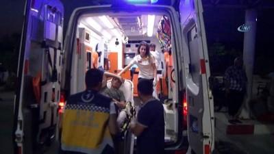bild -  Yaralı göçmenler Silifke Devlet Hastanesi'ne sevk edildi