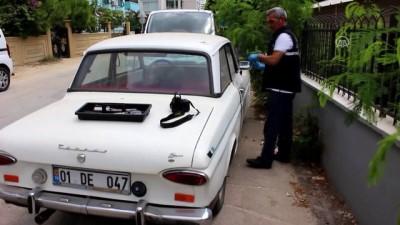 Adana'da çalınan 'dede yadigarı' klasik otomobil bulundu