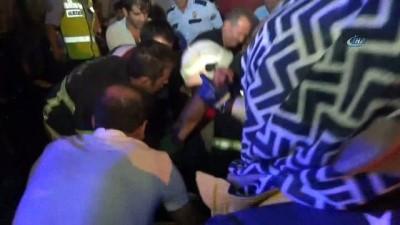 Aksaray'da 3 tırın karıştığı kazada ağır yaralanan sürücü hayatını kaybetti