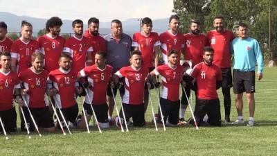 Ampute Milli Futbol Takımı, Dünya Kupası'na hazırlanıyor - BOLU