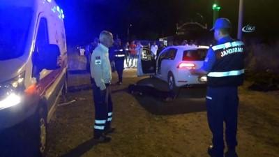 Aracının yanında başından tabancayla vurulmuş halde ölü olarak bulundu
