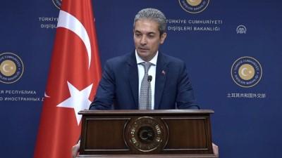 Dışişleri Sözcüsü Aksoy: 'AB üyeleri, ülkemizin AB için taşıdığı önemin farkında' - ANKARA