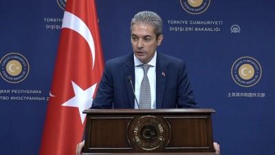 Dışişleri Sözcüsü Aksoy: 'Farklı ülkelerden 100'den fazla FETÖ'cüyü Türkiye'ye getirdik' - ANKARA