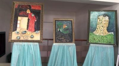 Eski bilgisayar parçaları sanat eseri tablolara dönüştü - ADANA