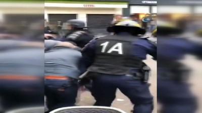 - Fransa'da Macron'un Güvenlik Danışmanı Polis Kılığında Eylemci Dövdü