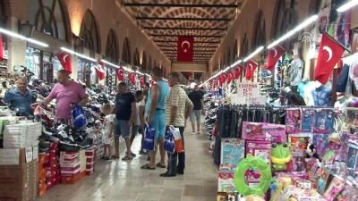 Gurbetçiler Edirne ekonomisini canlandırdı