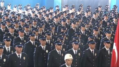 Kayseri POMEM'de 622 polis adayı yemin etti