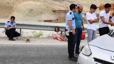 Malatya'da trafik kazası: 2'si çocuk 5 yaralı