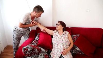 Pilotluk hayallerinden vazgeçip, kendisini annesine adadı - ANTALYA