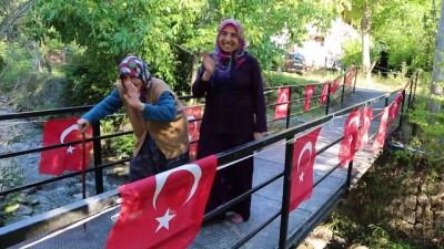 Vali Doğanay, 90 yaşındaki kadının hayalini gerçekleştirdi - ARTVİN