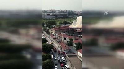 Veliefendi'de yangın (4) - İSTANBUL