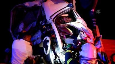 Zincirleme trafik kazası: 2 yaralı - AKSARAY