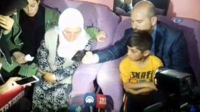 Bakan Soylu'dan infaz edilen Mevlit Bengi'nin ailesine taziye ziyareti