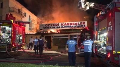 Başkentte fırında yangın: 1 ölü - ANKARA