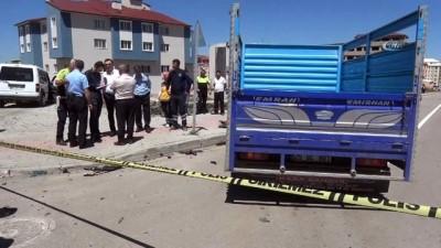Erzurum'da yürek burkan kaza: 1 ölü