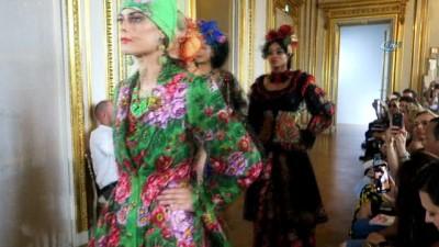 - Paris, Haute Couture Moda Haftası'nda oryantal esintiler