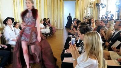 - Paris Haute Couture Moda Haftası'ndan Renkli Görüntüler