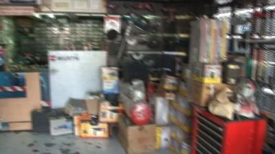 150 bin liralık makine çalan maskeli hırsızlar kamerada