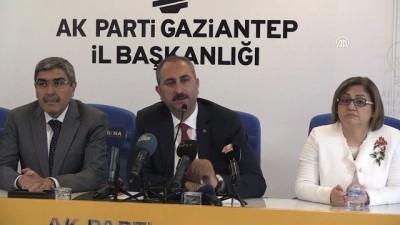 terorle mucadele - Adalat Bakanı Gül: 'Yargıya güven anlayışını hep beraber tesis edeceğiz' - GAZİANTEP