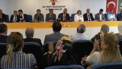 terorle mucadele -  Adalet Bakanı Gül'den Ak Parti Gaziantep İl Başkanlığı'na ziyaret