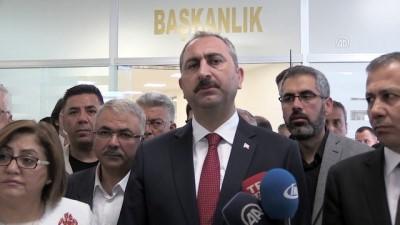 basin mensuplari - Adalet Bakanı Gül: 'FETÖ'nün darbe ile doğrudan ilişkili olduğuna dair tüm tezlerimizi, delillerimizi güçlendiren yeni bir delile ulaştık. Bunu da ilgililere ulaştırdık' - GAZİANTEP