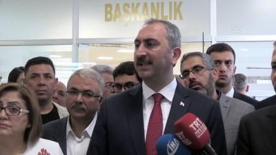 basin mensuplari - Adalet Bakanı Gül: '(İsrail Meclisi'nin, 'Yahudi ulus devlet' yasası) İsrail'in bu adımdan derhal vazgeçmesini bekliyoruz' - GAZİANTEP