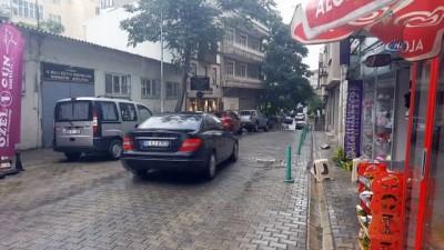 Aşırı bunaltıcı havanın ardından yağan yağmur vatandaşları serinletti