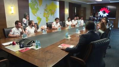 Bakan Varank İTÜ Güneş Arabası Ekibi'ni kabul etti - ANKARA