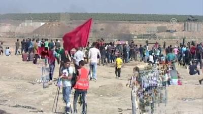Büyük Dönüş Yürüyüşü 17. cumasında devam ediyor (1) - GAZZE