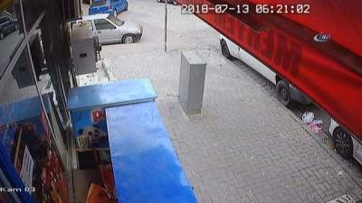Engelli çocukların tek iletişim aracını çalan hırsızlar kamerada