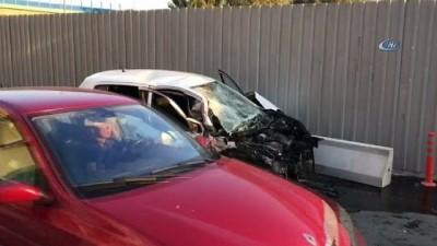 İzmir'de trafik kazası: 4 yaralı Video