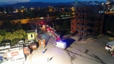 trafik kazasi -  Konya İtfaiyesi'nden gece tatbikatı