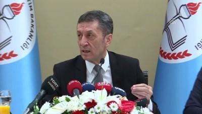 medya kuruluslari - Milli Eğitim Bakanı Selçuk: 'Bize biraz izin verin biz biraz çalışalım' - ANKARA