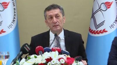 medya kuruluslari - Milli Eğitim Bakanı Selçuk: 'Eğitim öncelikle milli seviyede kurulmaz, eğitim önce evrensel seviyede kurulur' - ANKARA