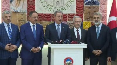 Milli Savunma Bakanı Akar: '(Bedelli askerlik düzenlemesi) İlgili birimlerle gerekli koordinasyon içinde çalışma yapıldı' - KAYSERİ