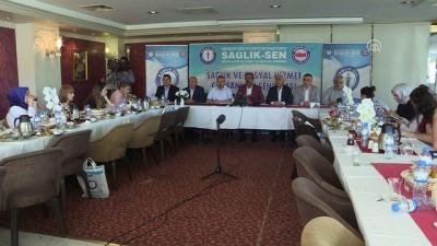 basin toplantisi - Sağlık-Sen Genel Başkanı Memiş: 'Cezaların caydırıcı niteliği mutlaka güçlendirilmelidir' - ANKARA