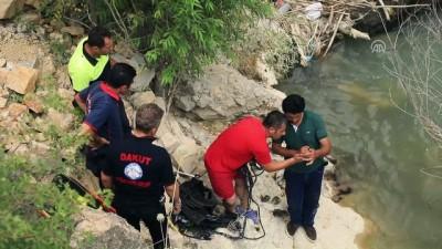 sulama kanali - Tohma Çayı'nda erkek cesedi bulundu - MALATYA
