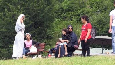 Ulugöl dört mevsim ziyaretçi ağırlıyor - ORDU